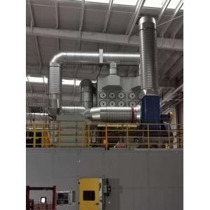 江铃集团电焊车间除尘项目